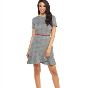 Maggy London fit and flare dress, size 10, nwt